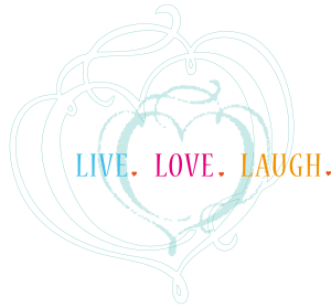 Heart + Live Love Laugh
